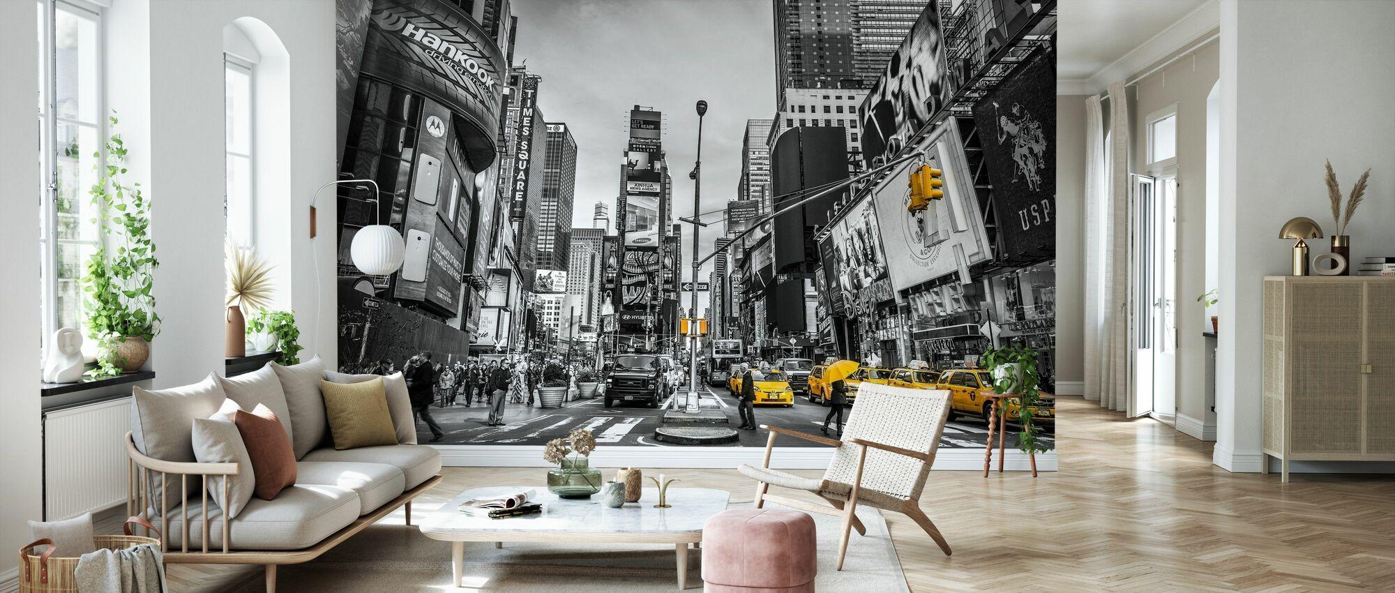 New York - Tapete - Wohnzimmer