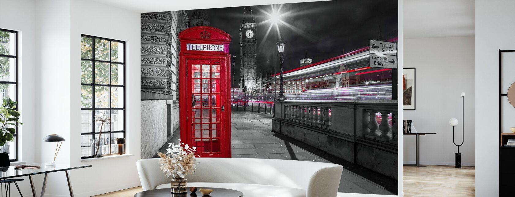 London - Tapete - Wohnzimmer
