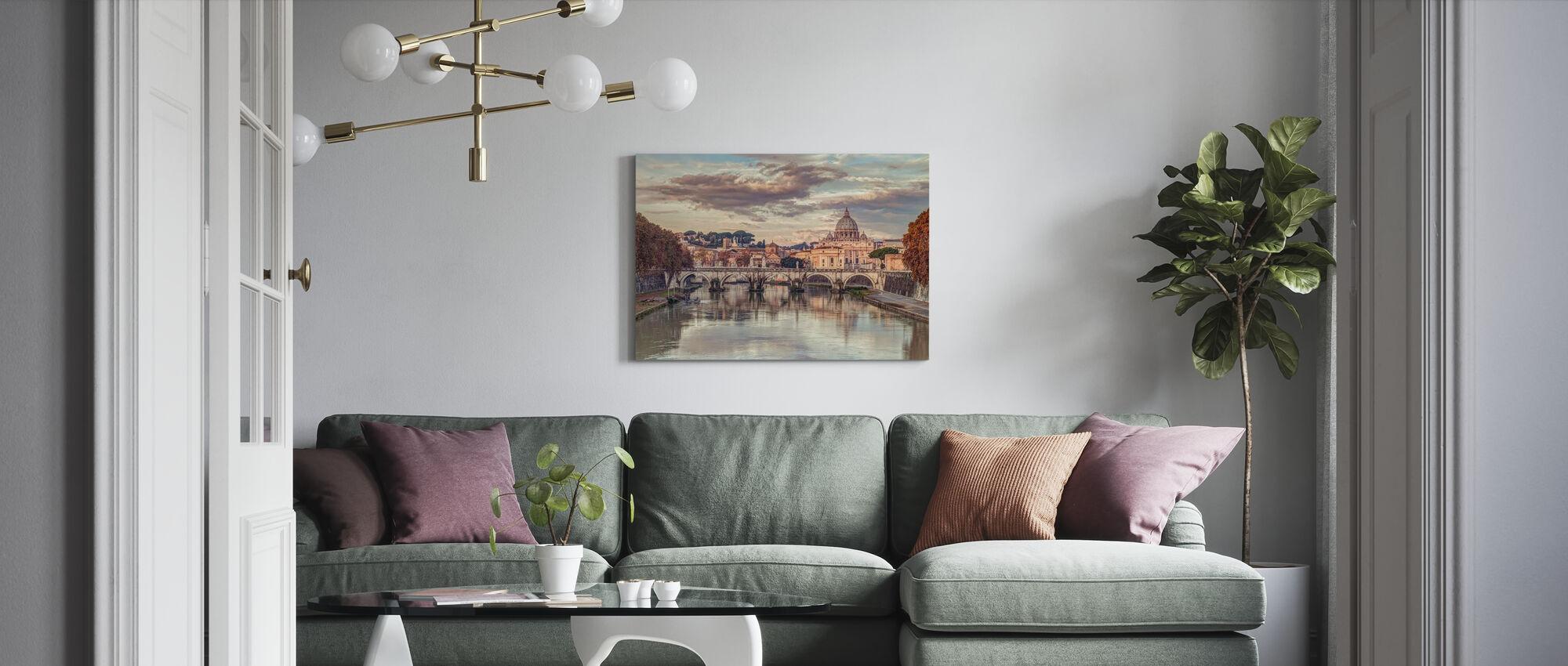 Rome - Canvas print - Living Room