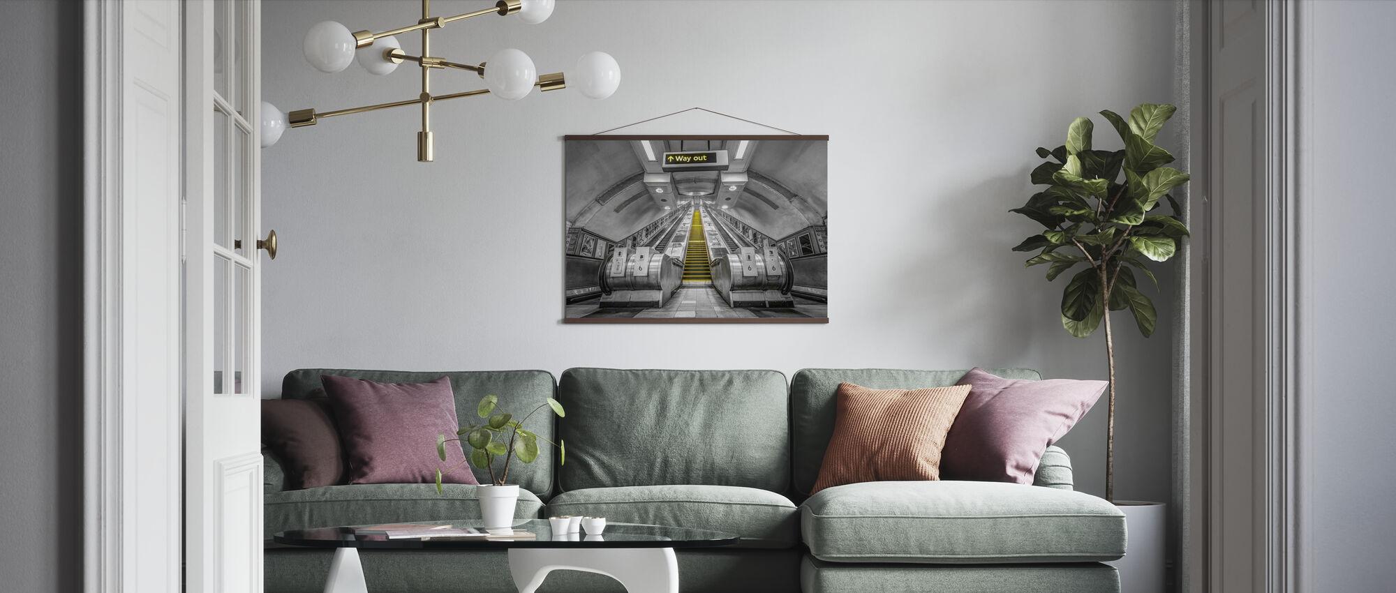 London Underground - Poster - Living Room