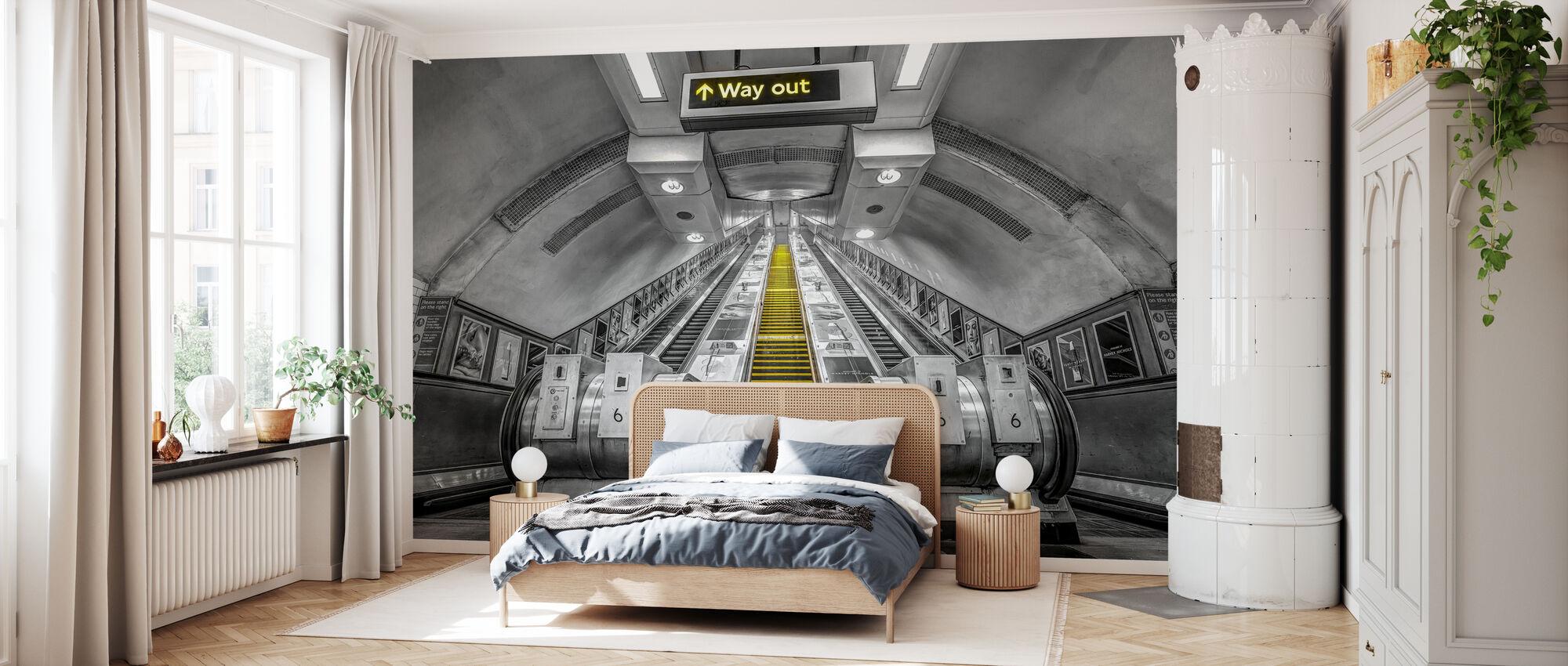 London Underground - Wallpaper - Bedroom