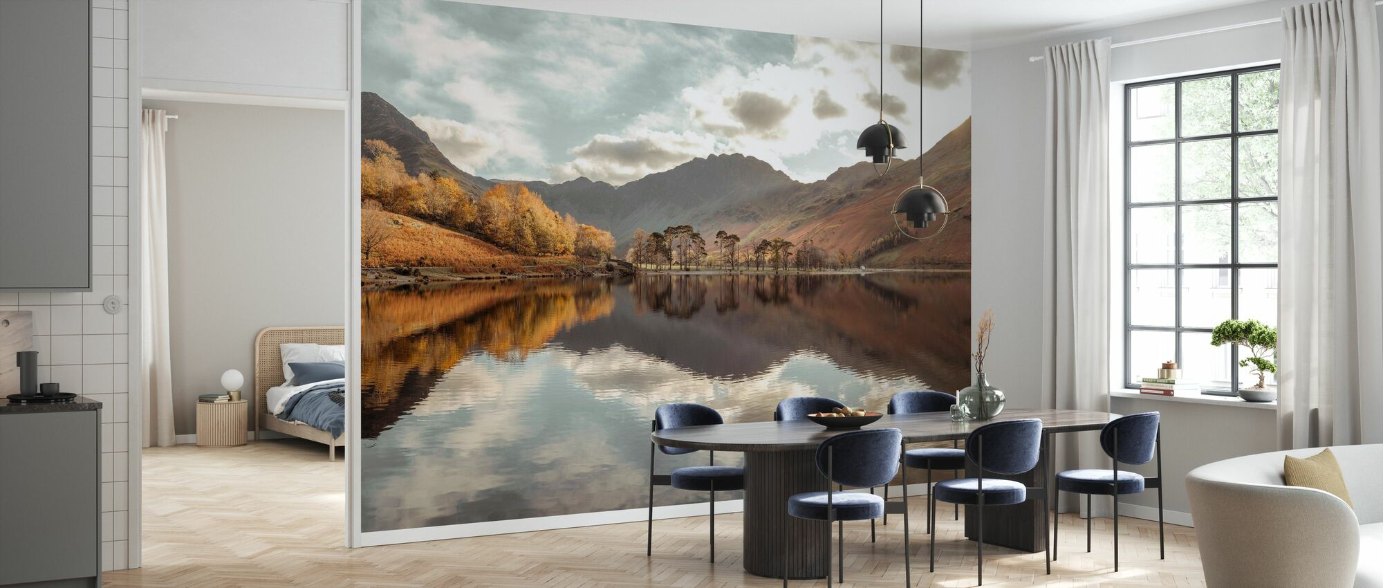 Lake District - Wallpaper - Kitchen