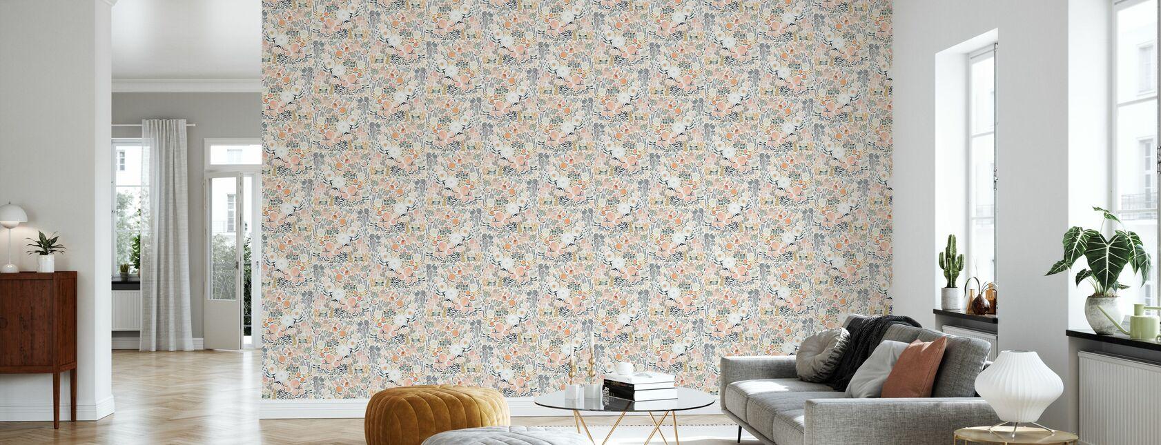 Sea of Flowers - Wallpaper - Living Room