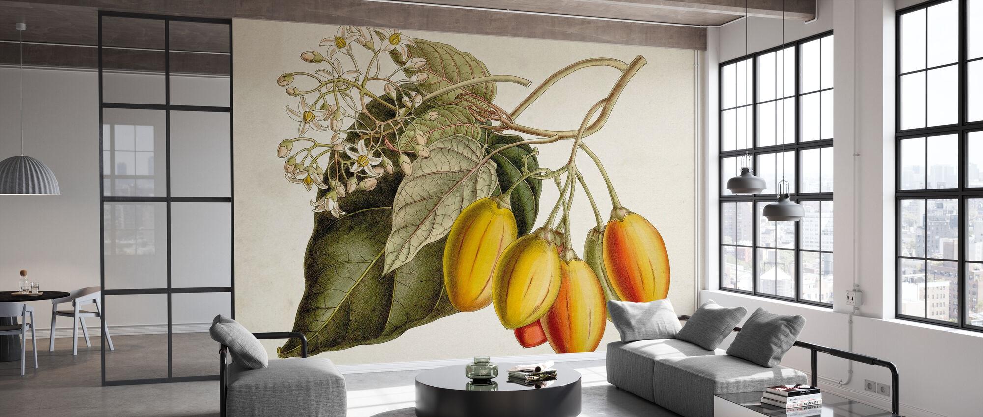 Tropische Laubfrucht III - Tapete - Büro