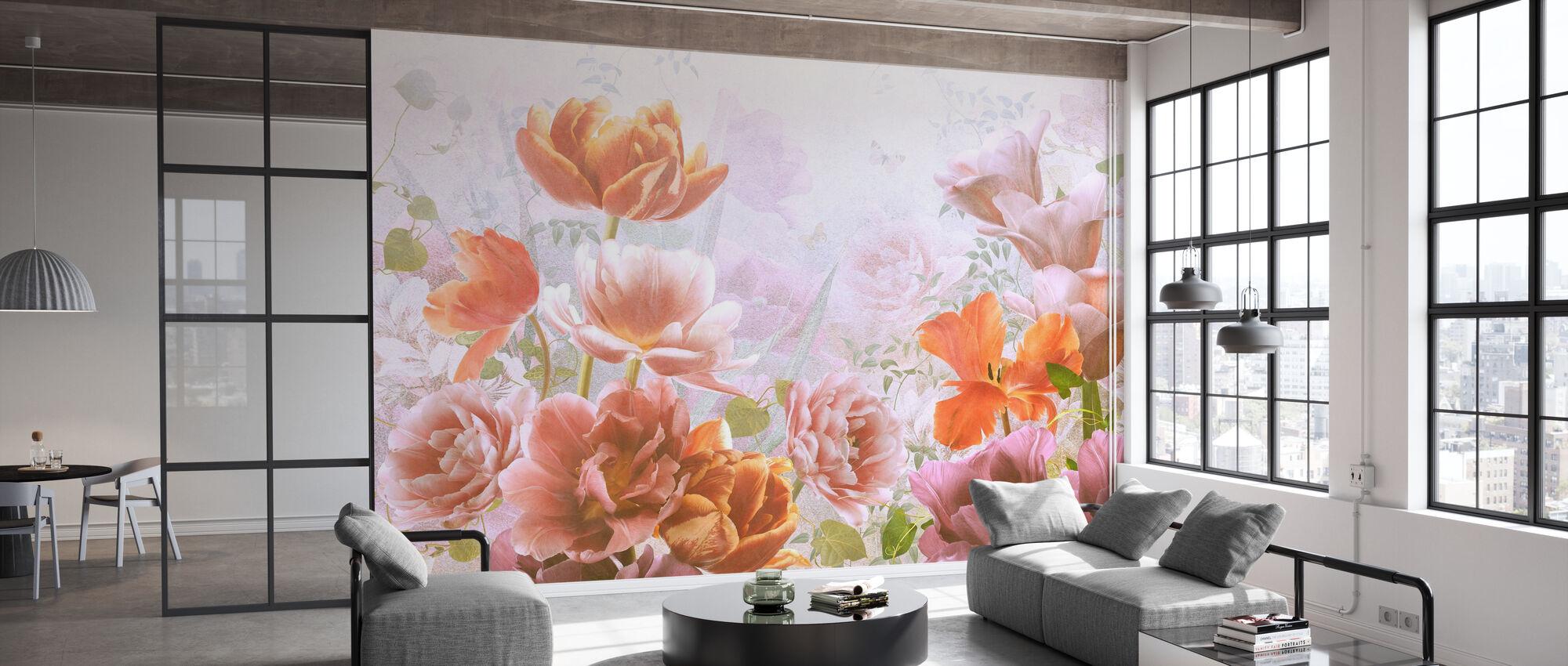 Floralness - Wallpaper - Office