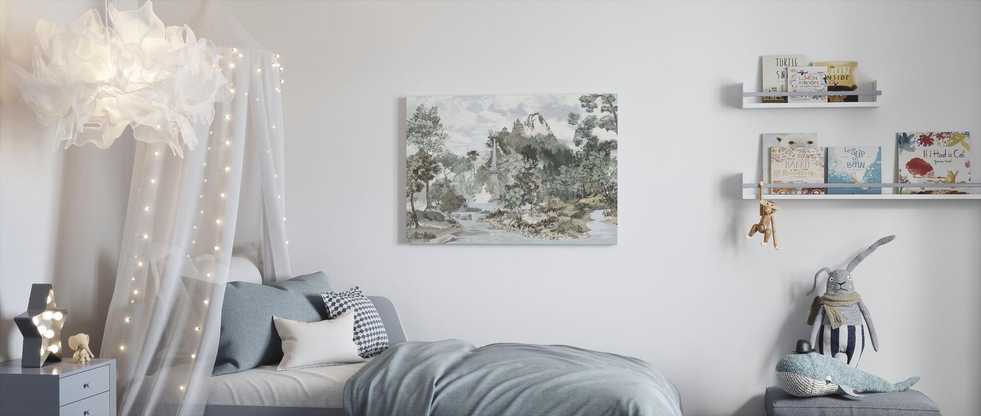 Fairytale Scenery - Canvas print - Kids Room