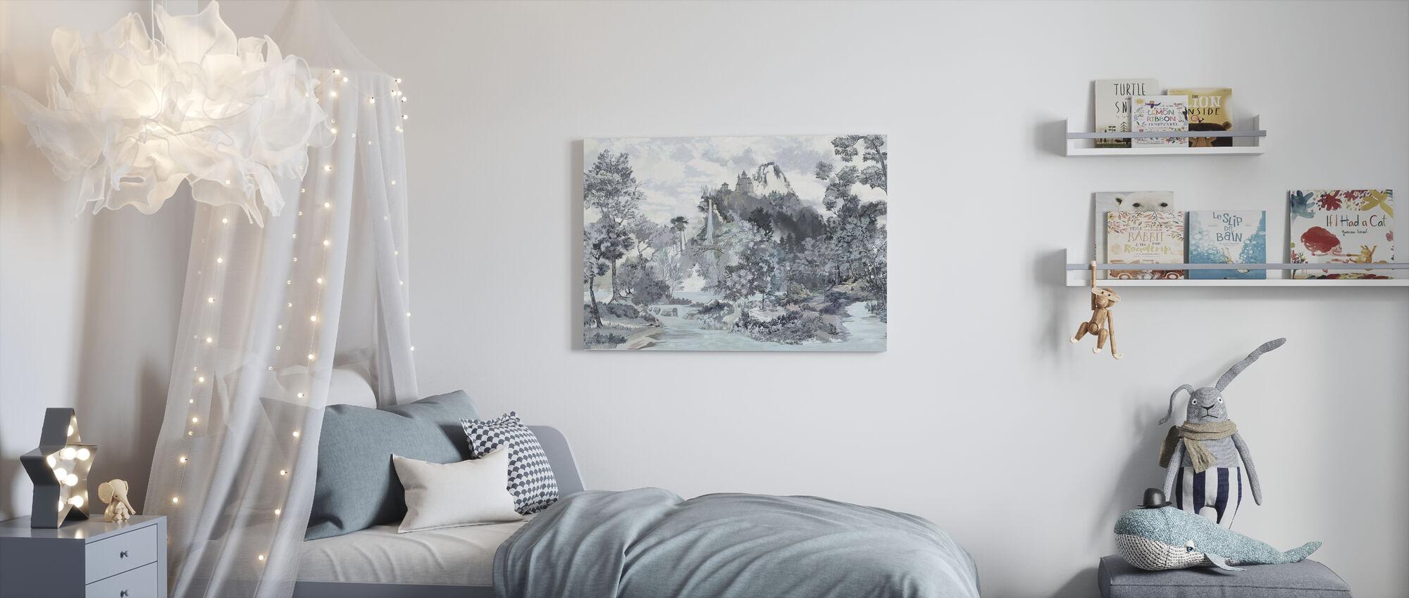 Fairytale Scenery II - Canvas print - Kids Room