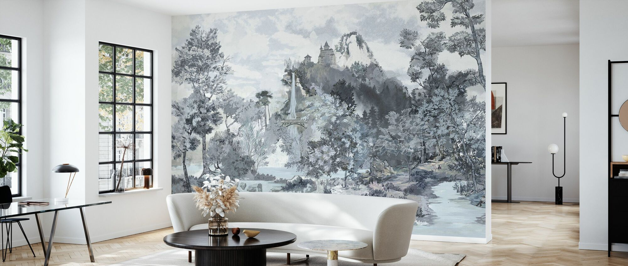 Fairytale Scenery II - Wallpaper - Living Room