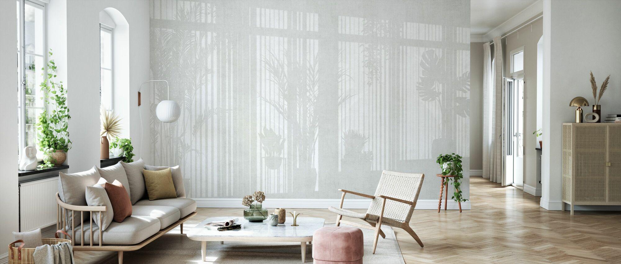 Sunny Window - Bright - Wallpaper - Living Room