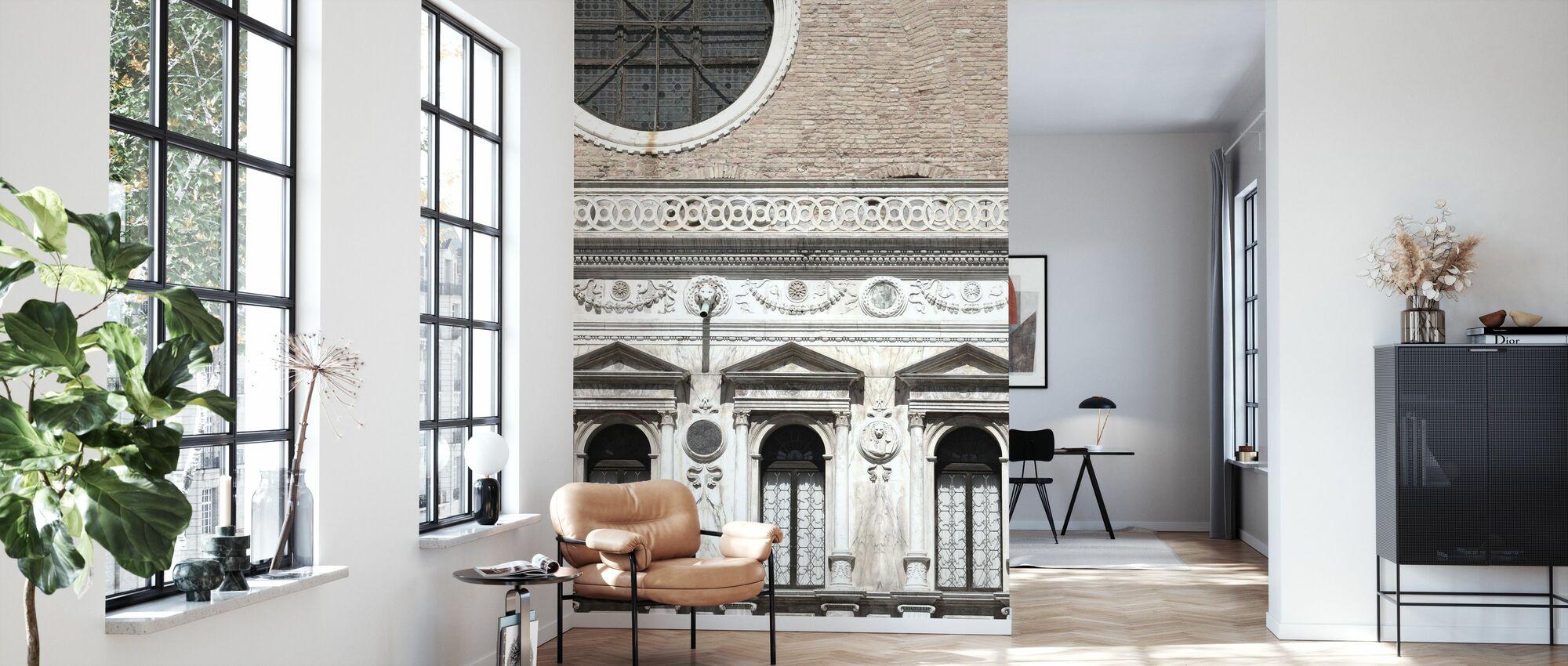 Venetian Facade Photos - Wallpaper - Living Room