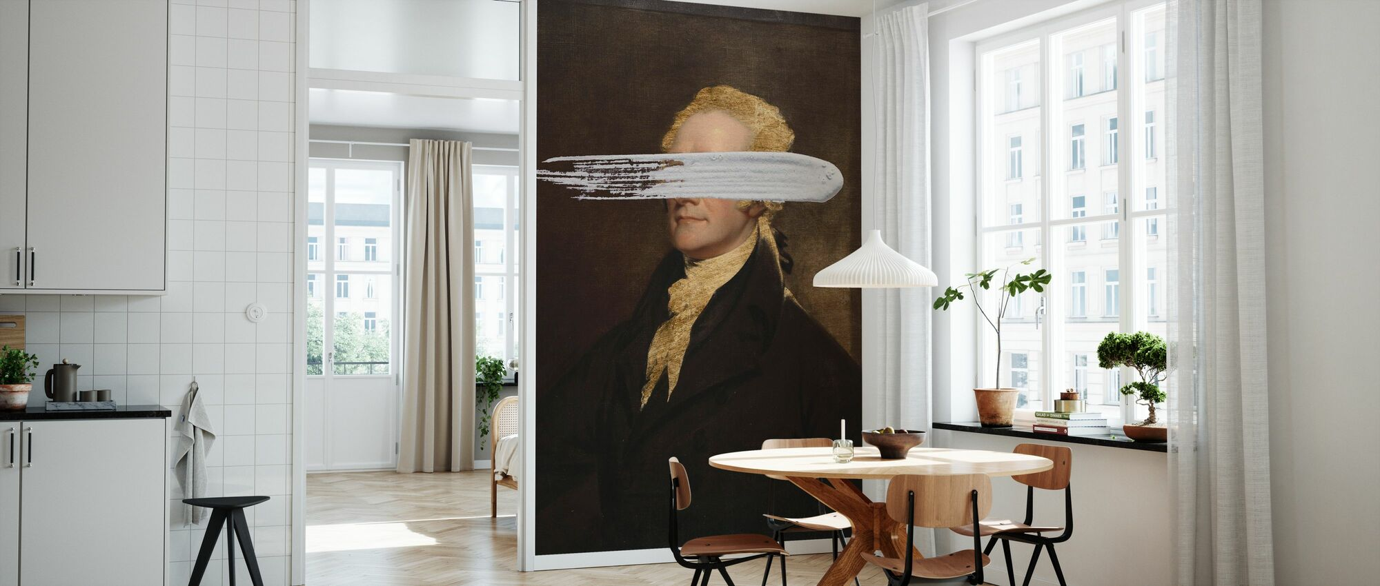 Masked Hamilton - Wallpaper - Kitchen
