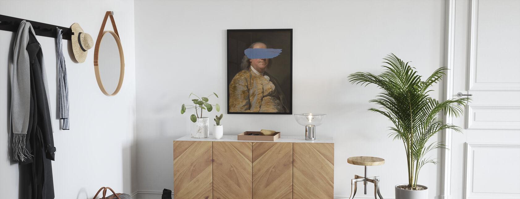 Masked Franklin - Poster - Hallway