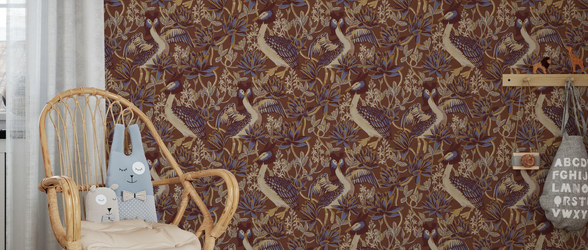 Lake Luxe - Sequoia - Wallpaper - Kids Room