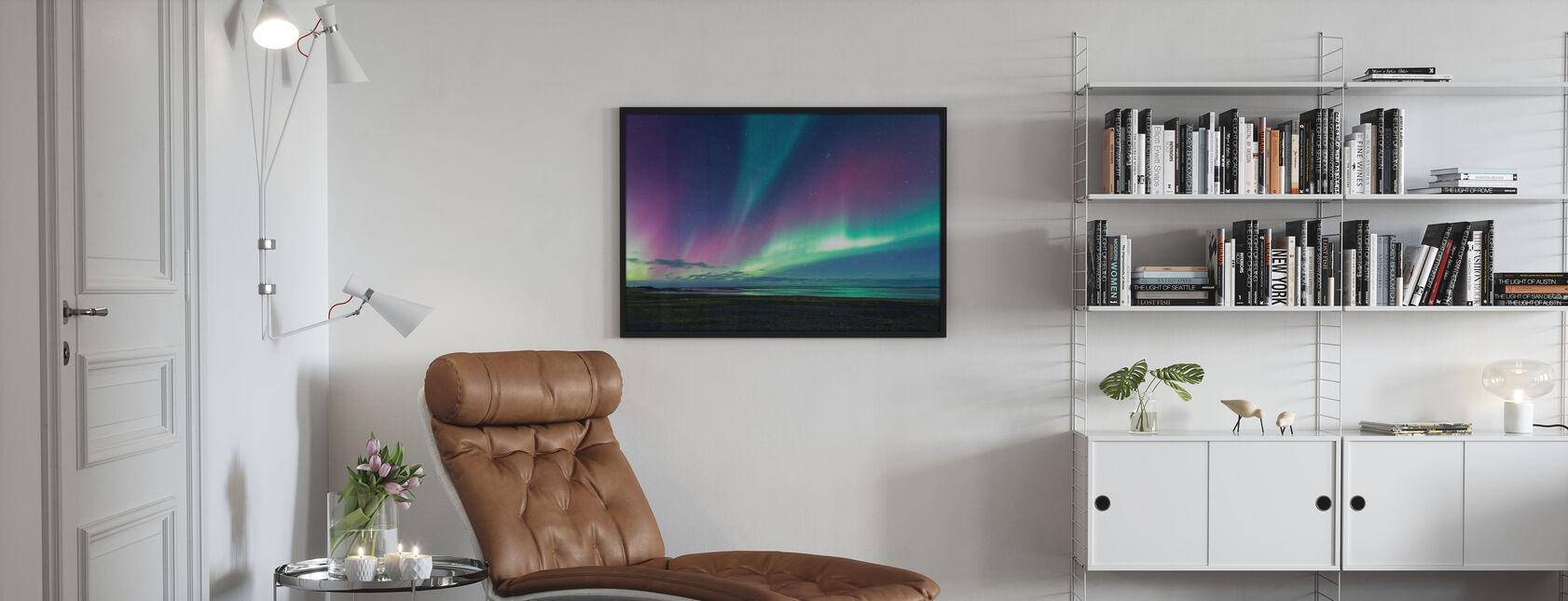 Aurora over havet - Plakat - Stue