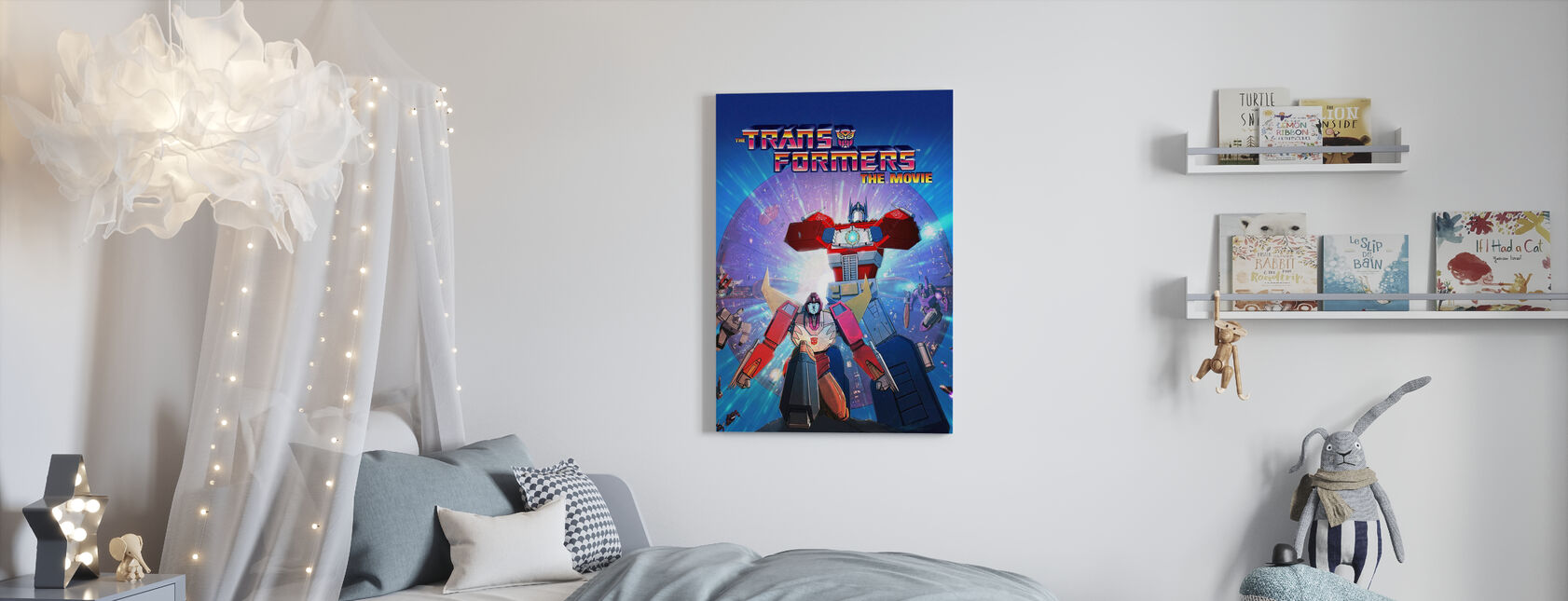 Transformers the Movie - Canvas print - Kids Room