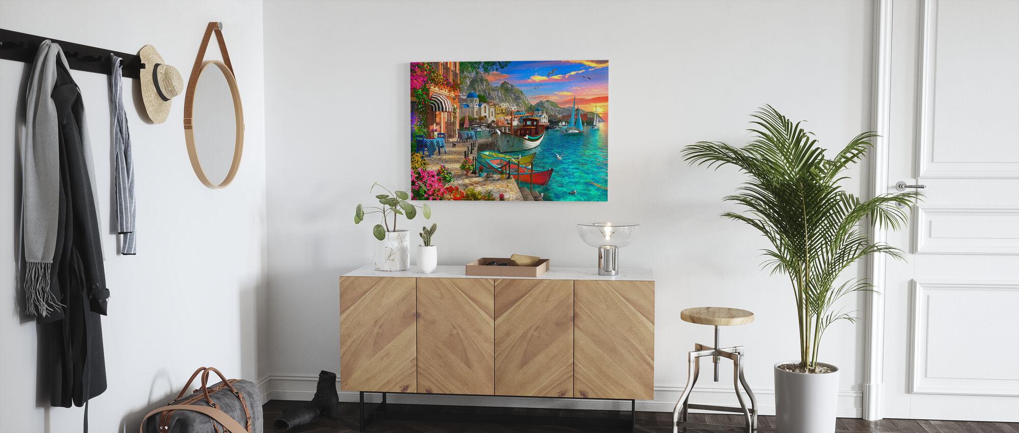Grandiose Greece - Canvas print - Hallway