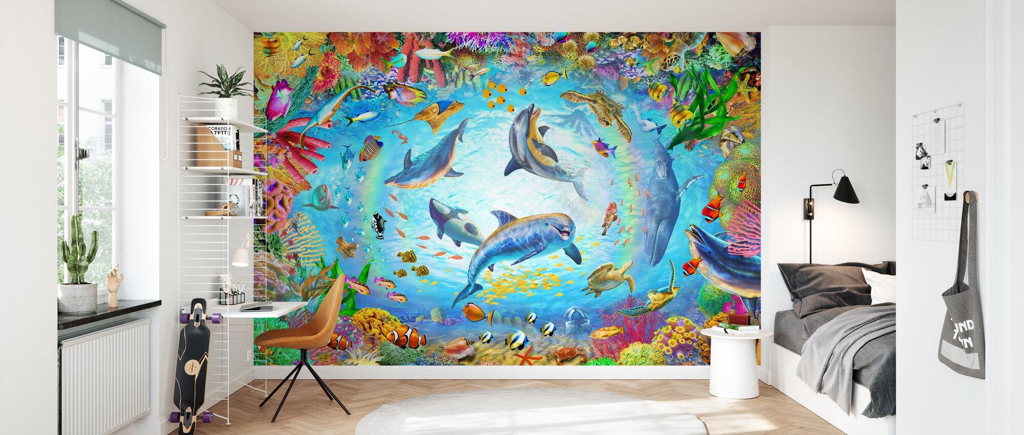 Underwater 360 - Wallpaper - Kids Room