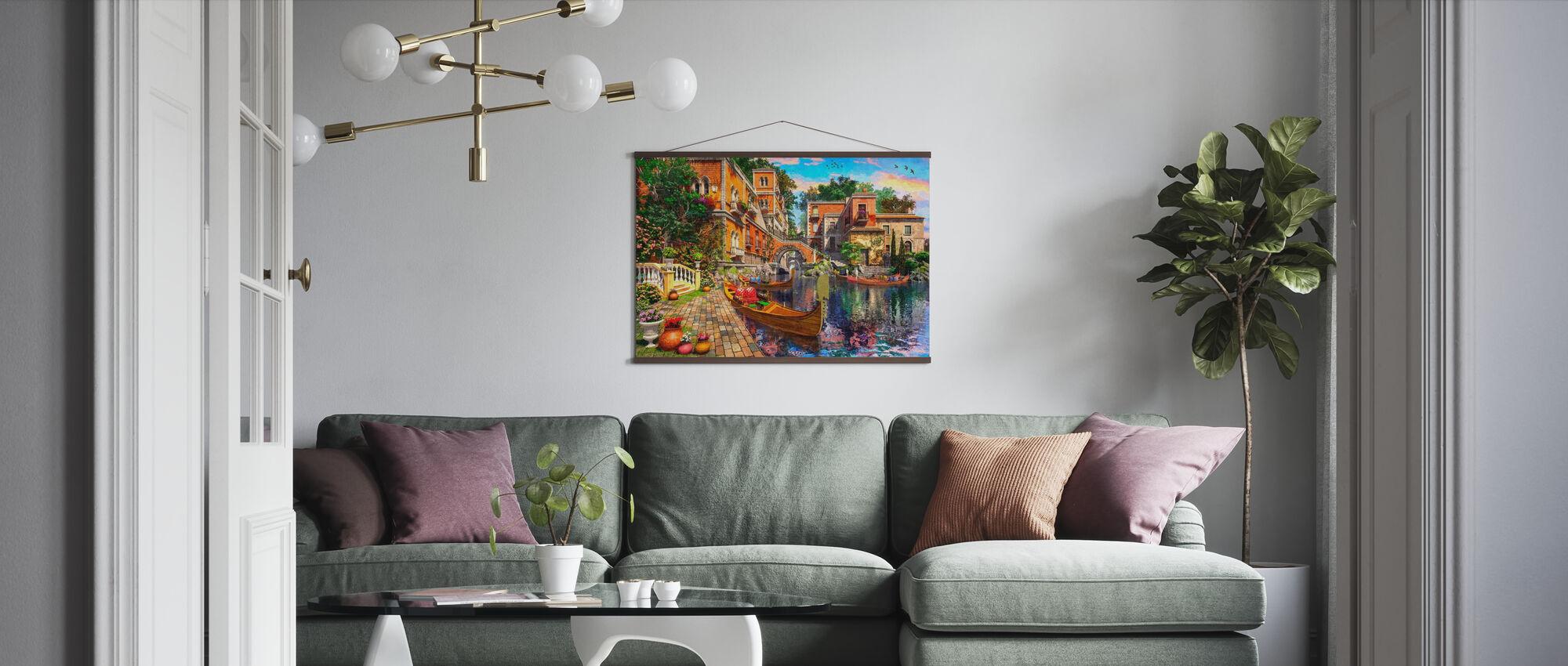Venezia Utsikt - Plakat - Stue