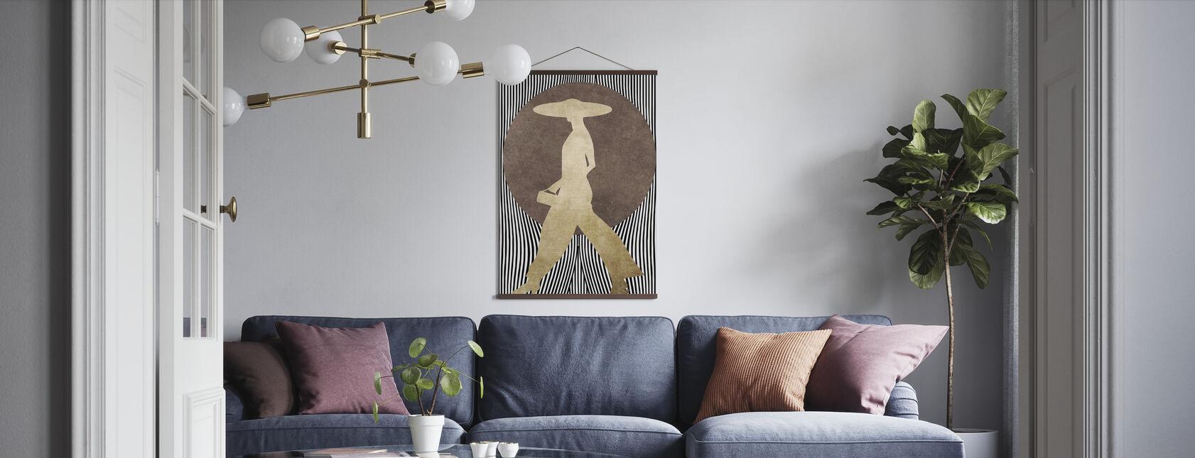 La Madame Noir - Poster - Wohnzimmer