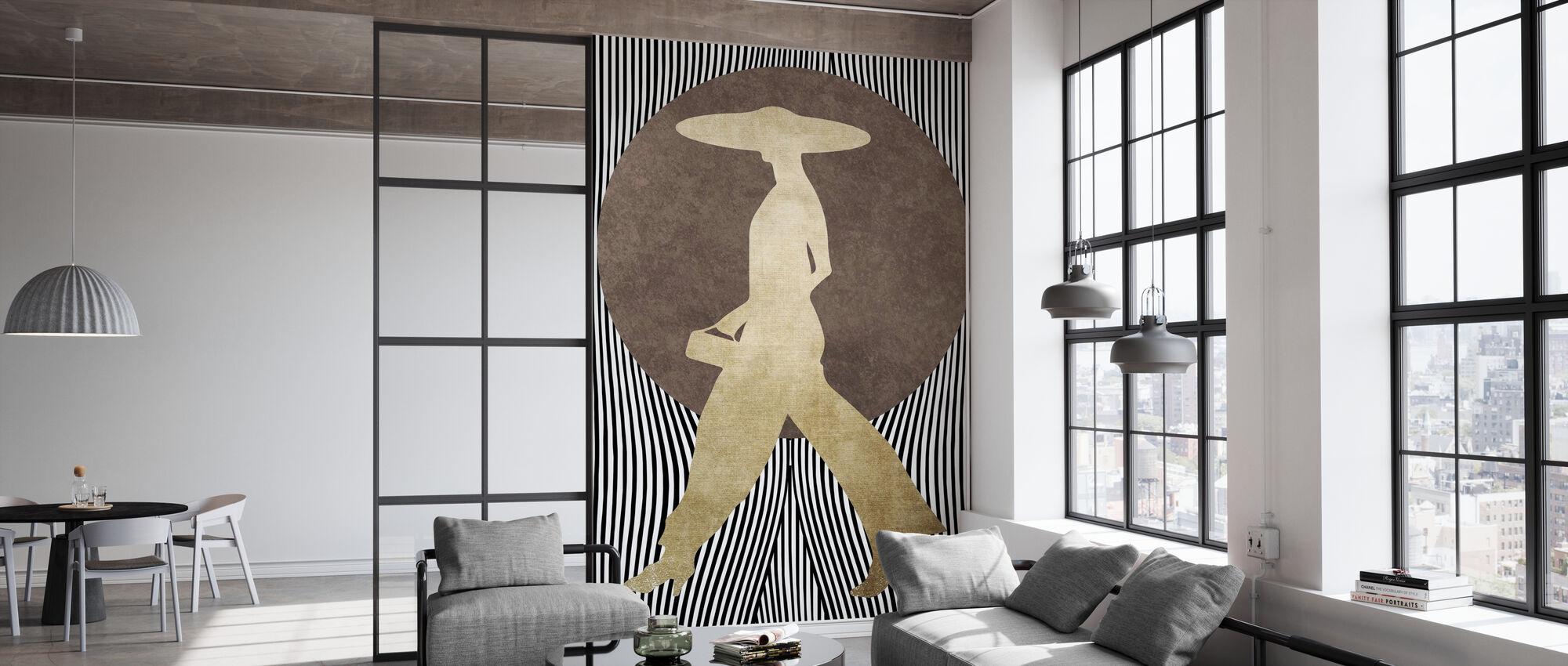 La Madame Noir - Wallpaper - Office