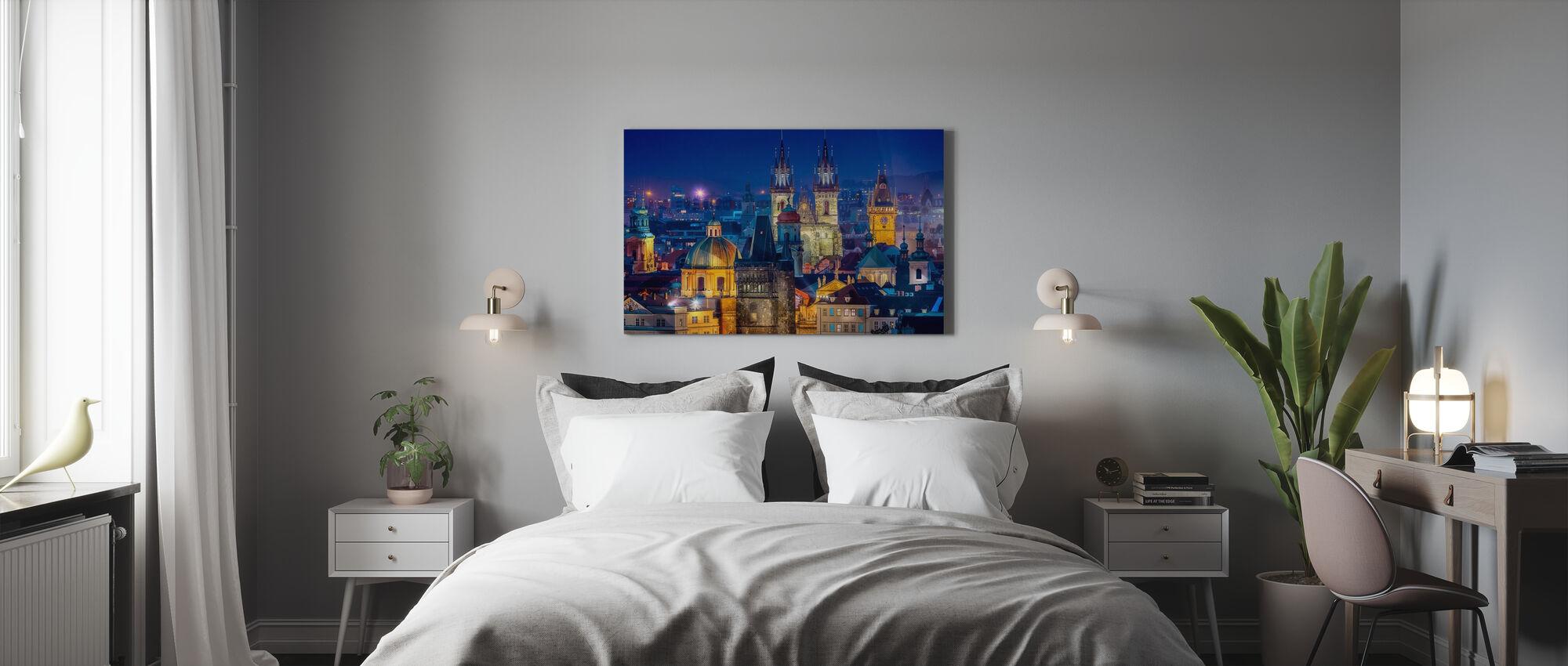 Oma näkymä - Canvastaulu - Makuuhuone