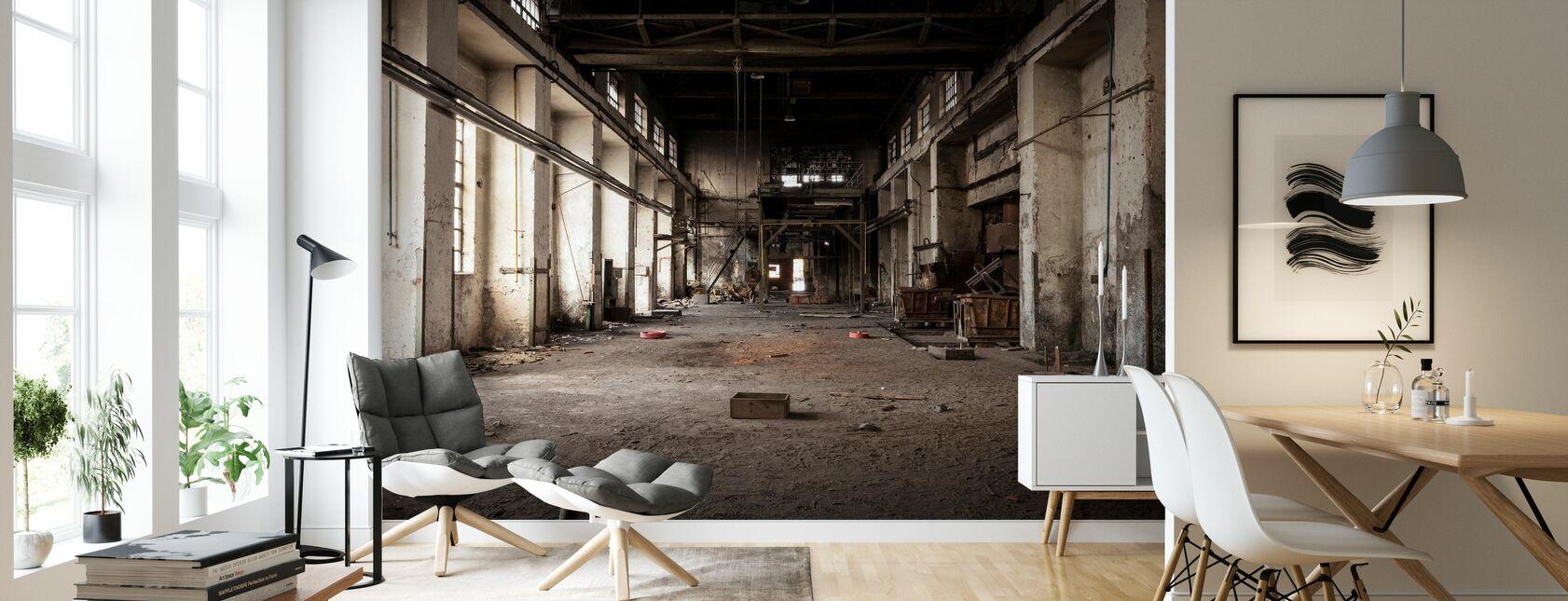 Gamle Industribygg - Tapet - Stue