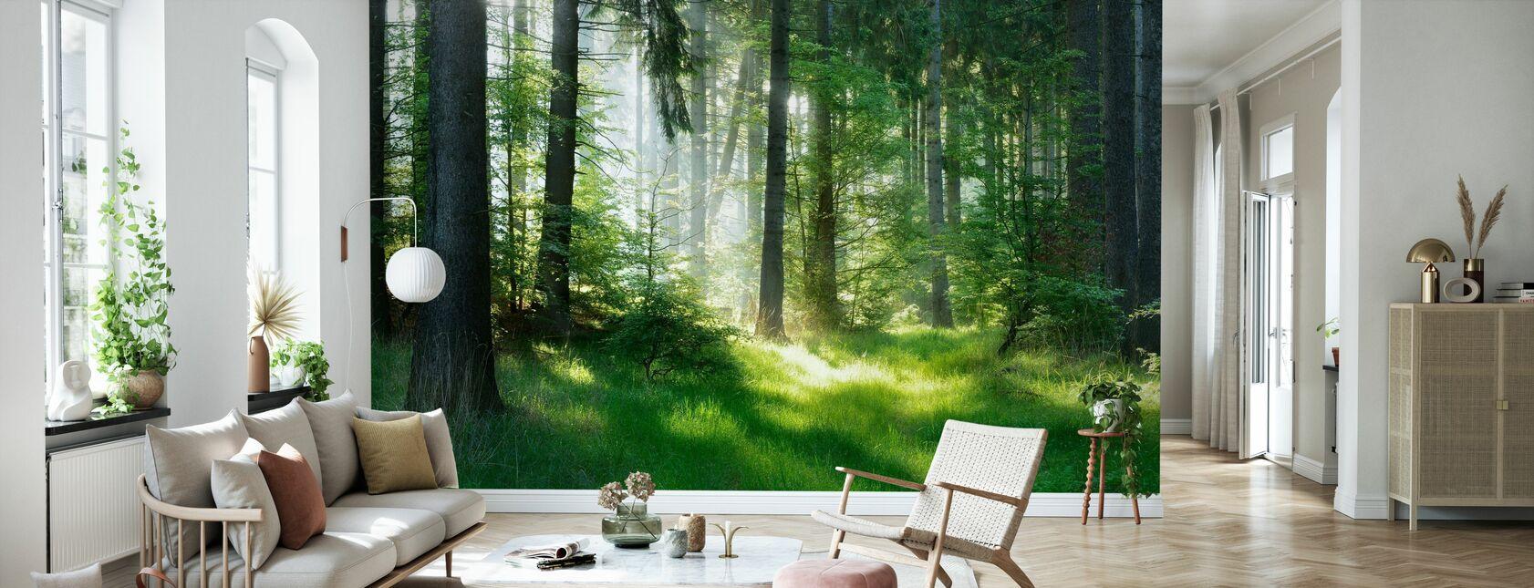 Granskog - Tapet - Vardagsrum