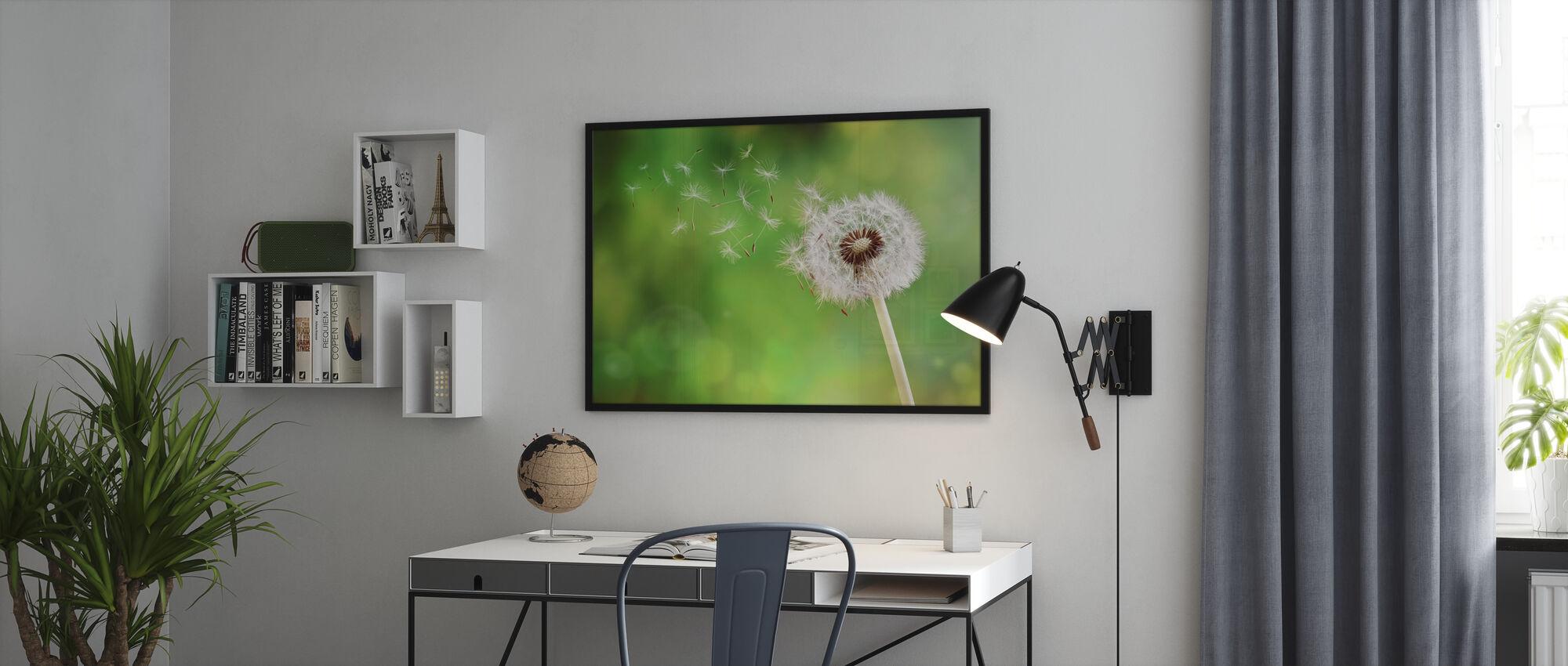 Dandelion Dispersing Seed - Poster - Office