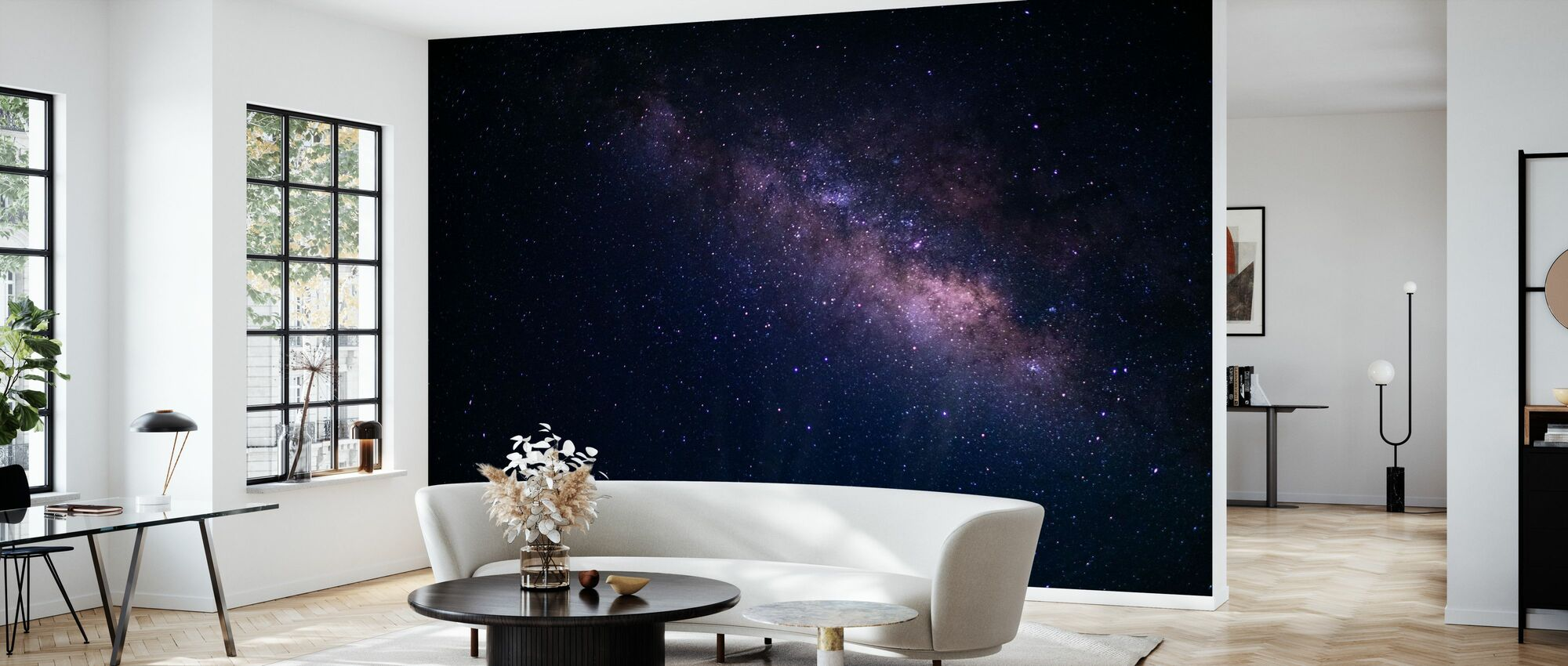 Milky Way Galaxy - Wallpaper - Living Room