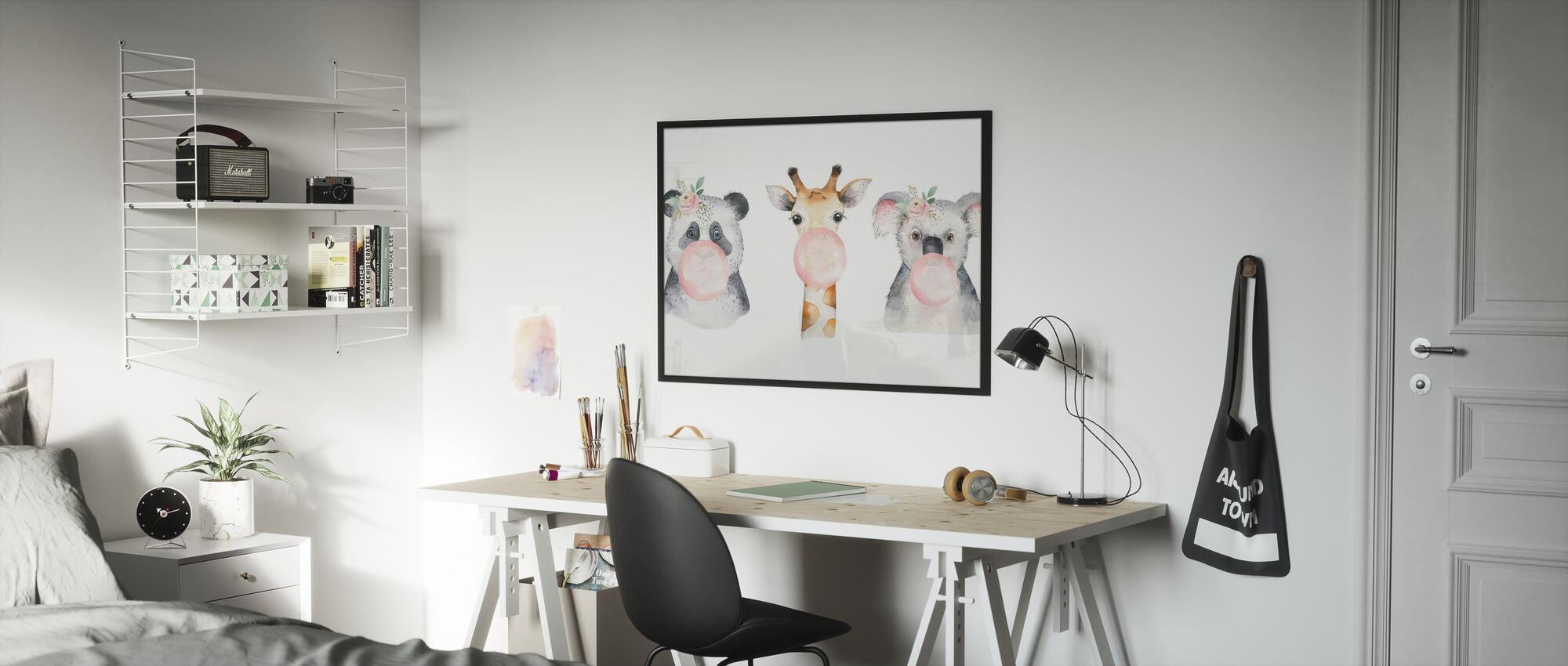 Baby Animals II - Poster - Kids Room