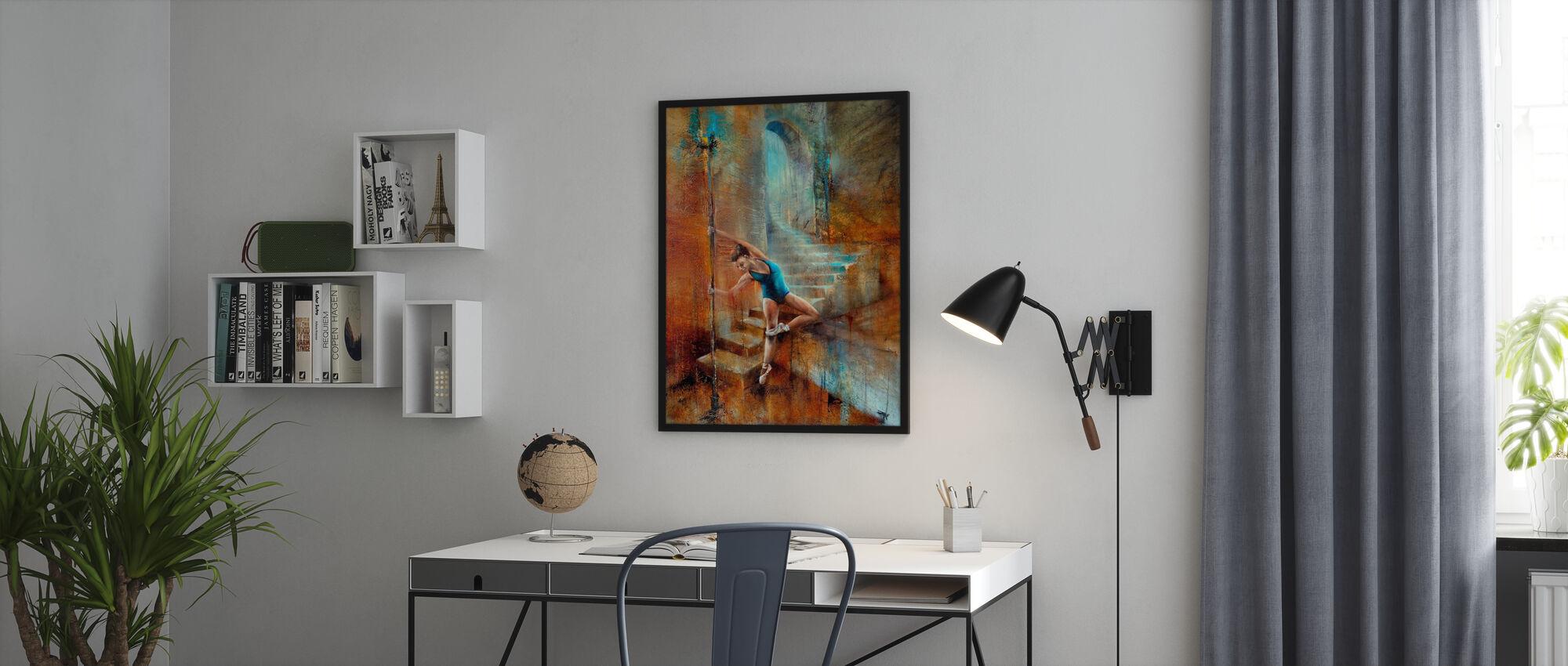 Balance - Framed print - Office