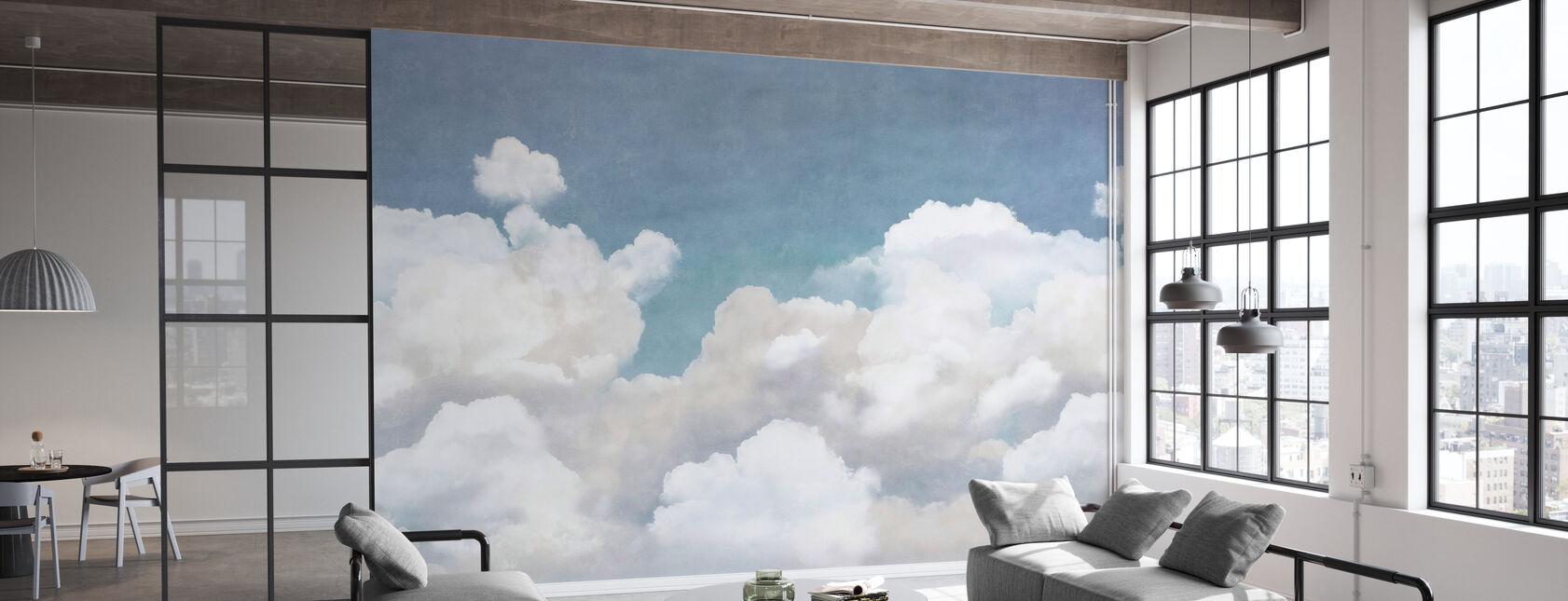 Romige wolken - Behang - Kantoor
