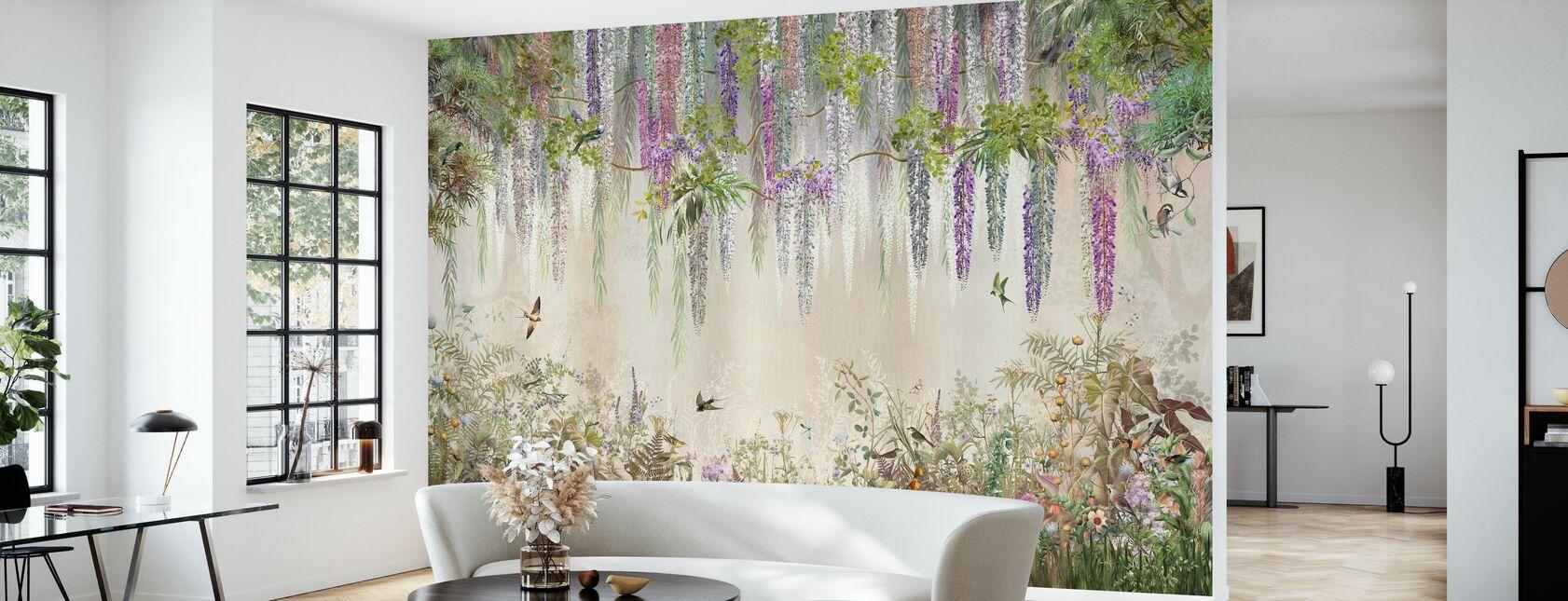 Paradise Garden - Tapet - Vardagsrum