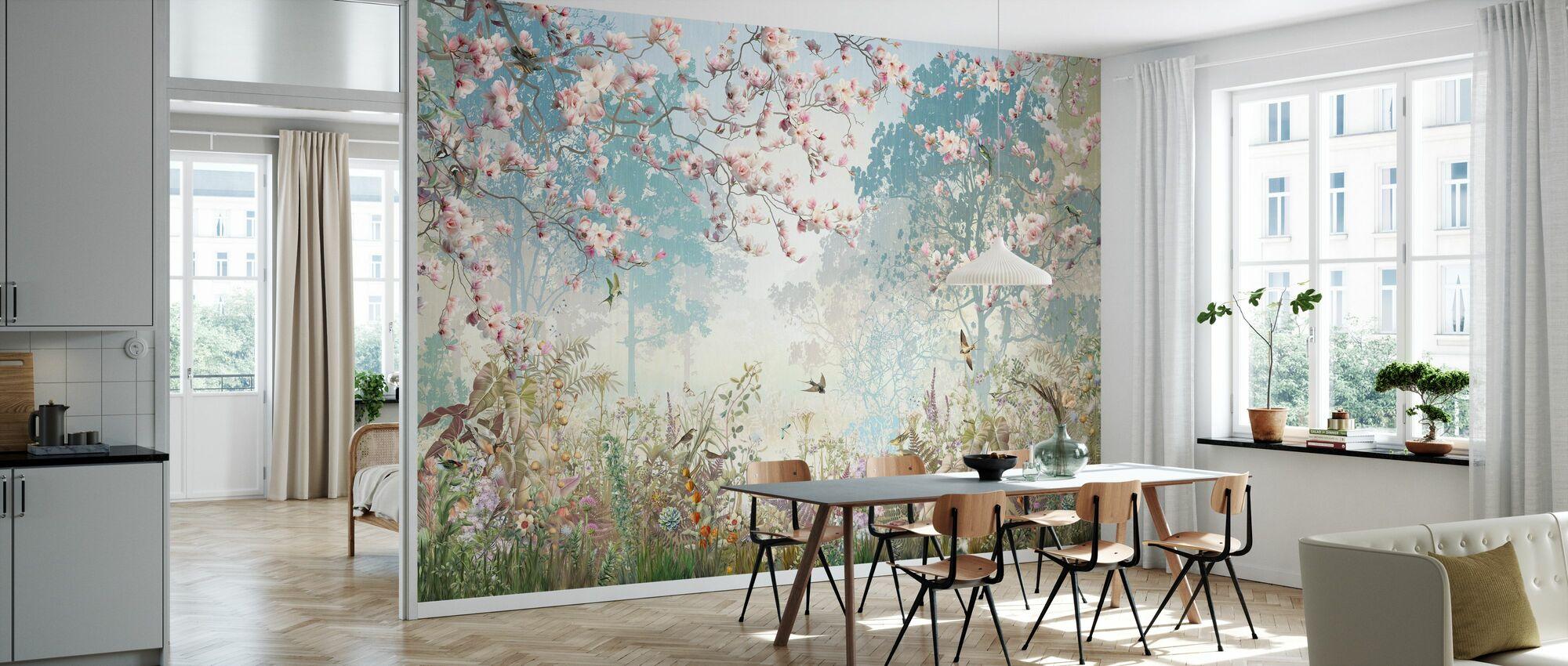 Sparkling Garnder - Wallpaper - Kitchen