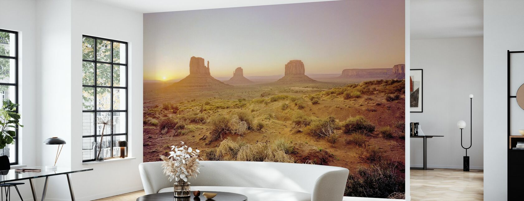 Daggry i ørkenen - Tapet - Stue