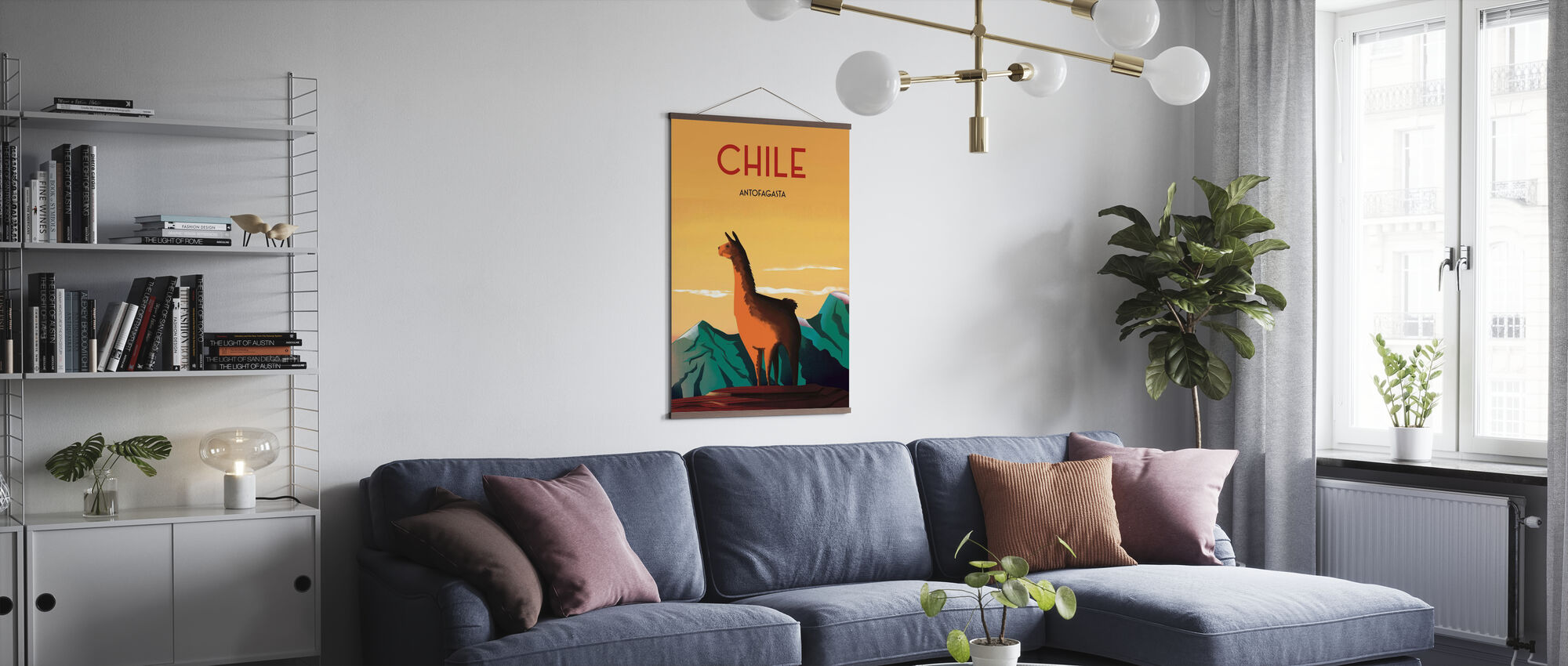 Chili - Poster - Woonkamer