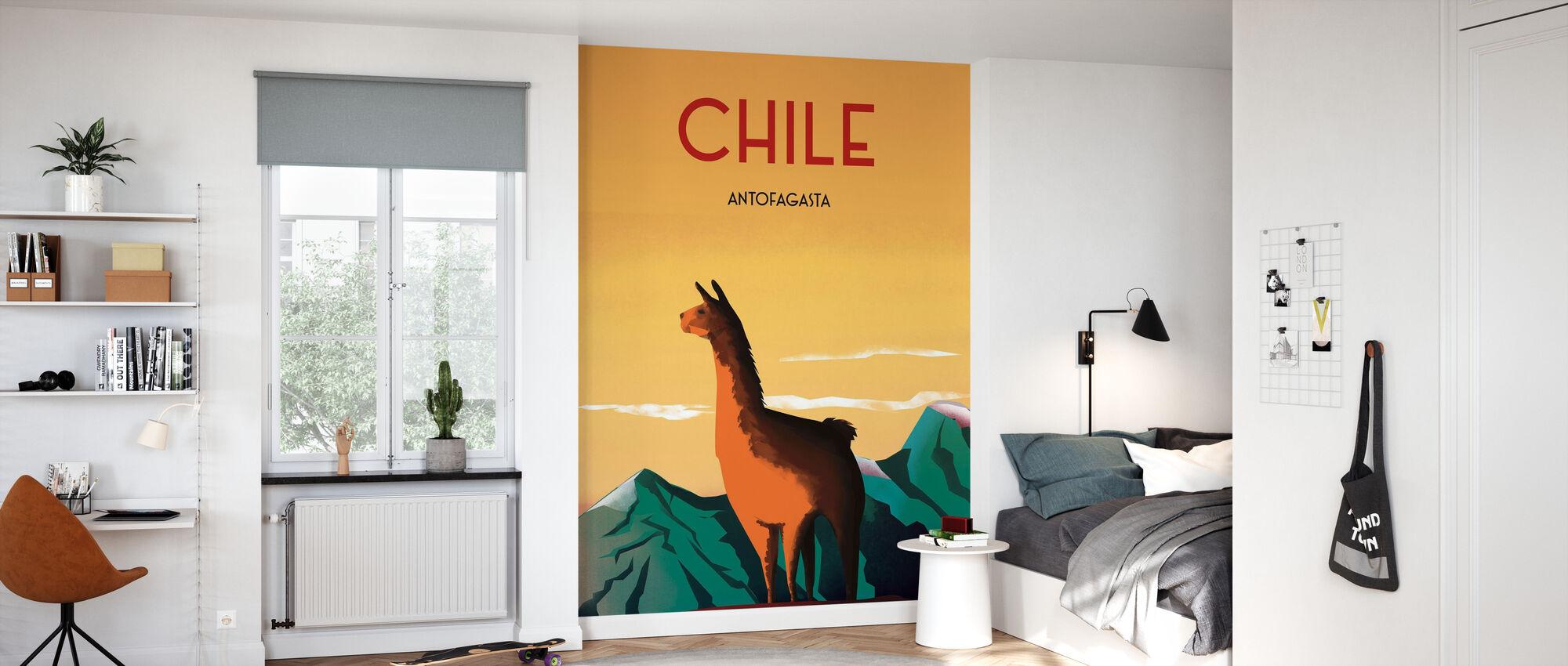 Chile - Wallpaper - Kids Room