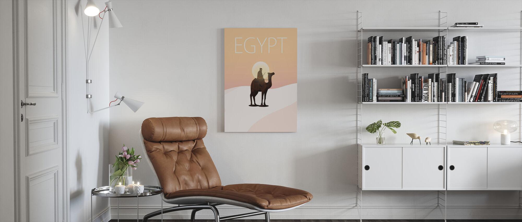 Egyptiin - Canvastaulu - Olohuone