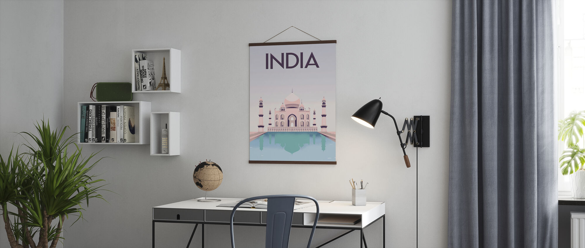 India - Poster - Office