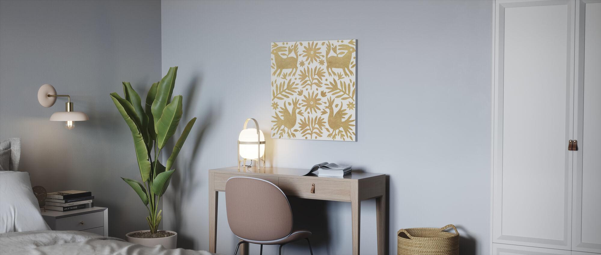 Otomi Elegance - Canvas print - Office