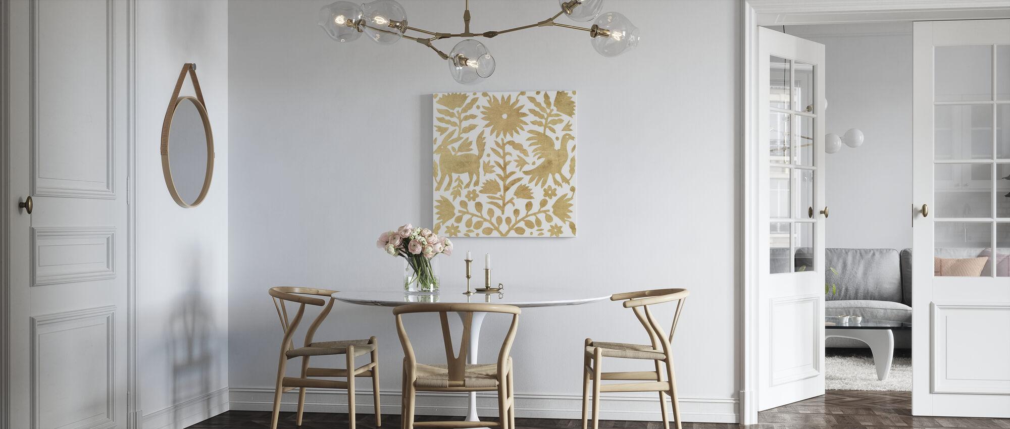 Otomi Elegance II - Canvas print - Kitchen