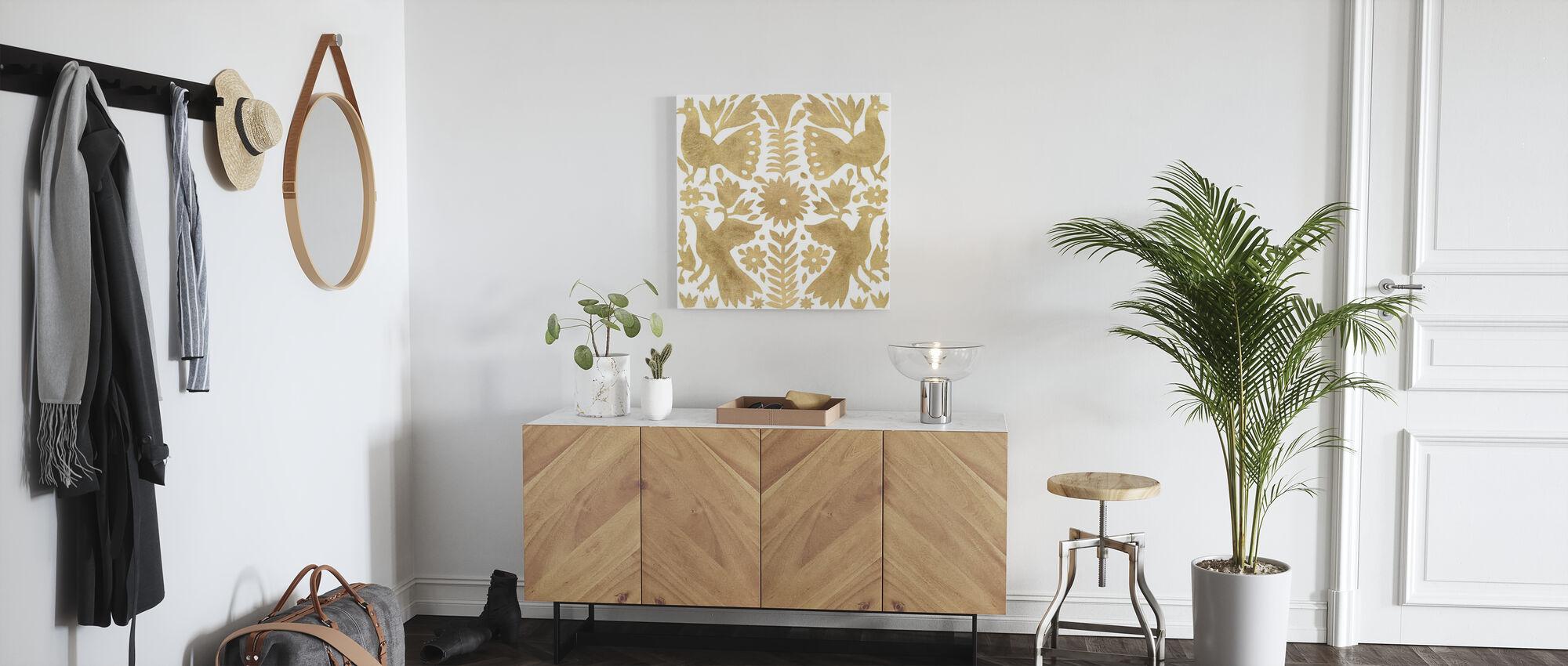 Otomi Elegance III - Canvas print - Hallway