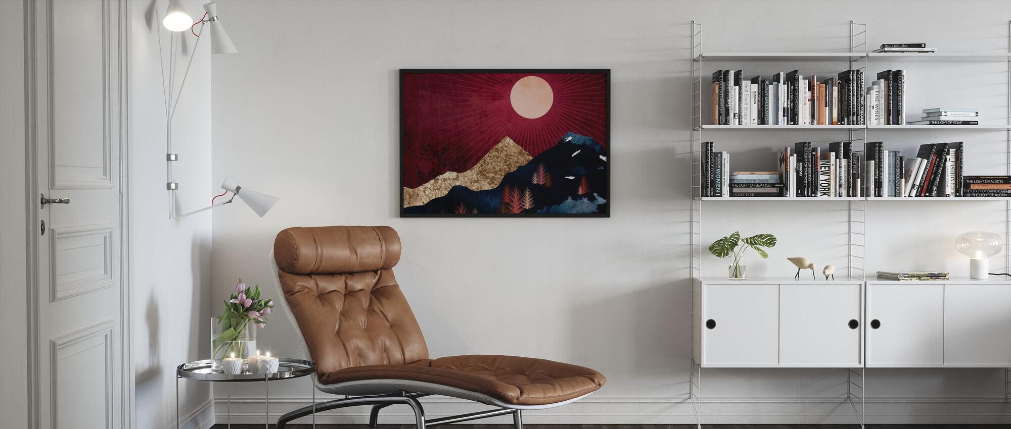 Syksyn yö - Kehystetty kuva - Olohuone