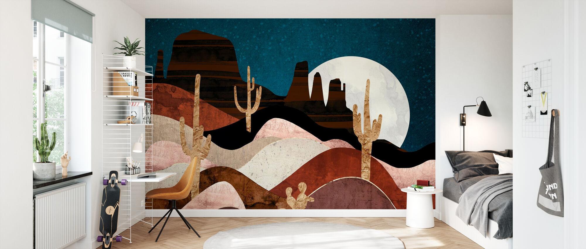 Desert Stars - Wallpaper - Kids Room
