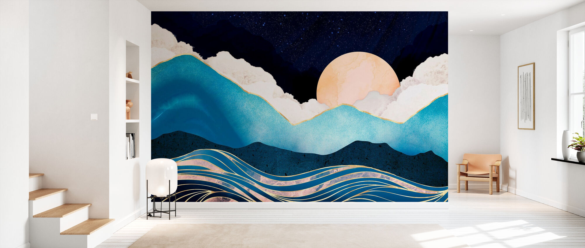 Star Sea - Wallpaper - Hallway
