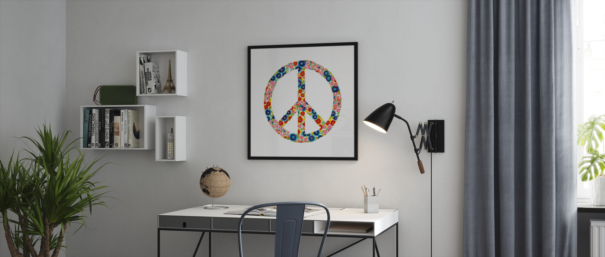 Peace and Love - Poster - Office