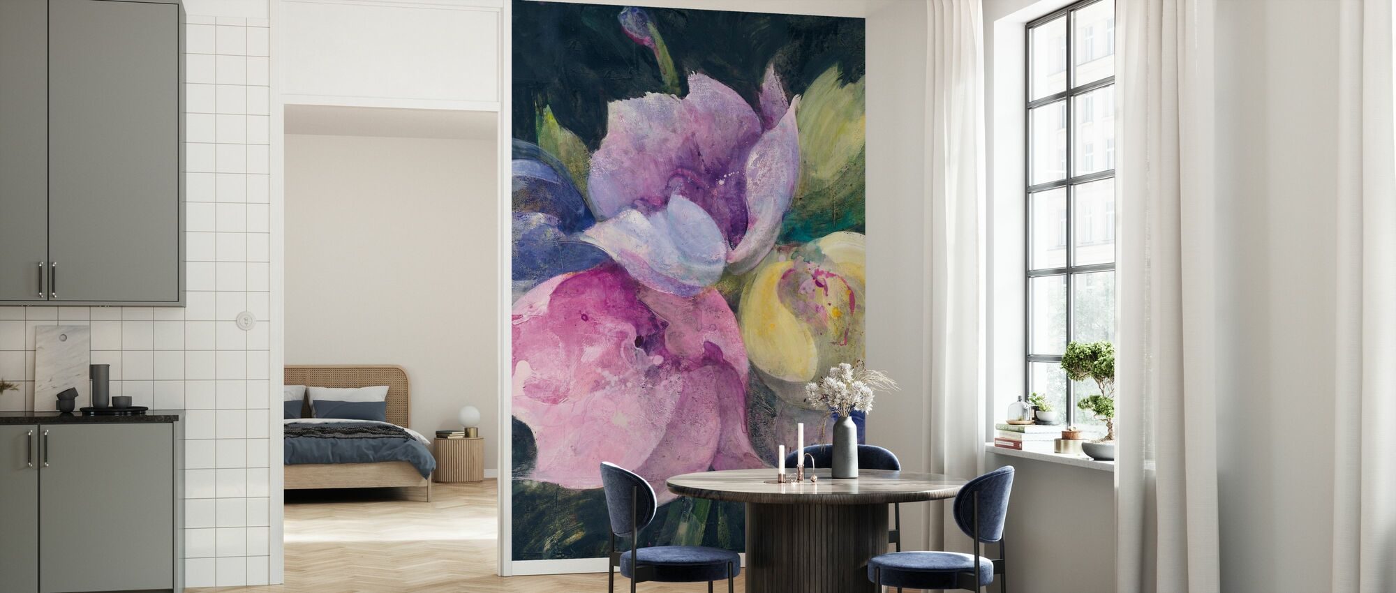 Tulips Galore - Wallpaper - Kitchen