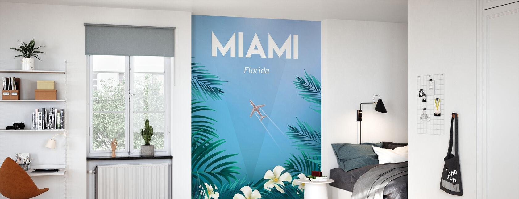 Miami - Wallpaper - Kids Room