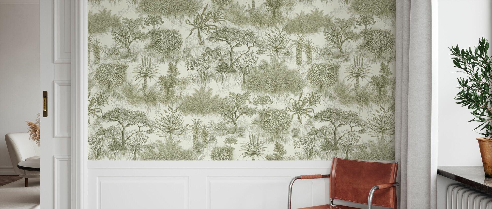 Safari Plains - Safari - Wallpaper - Hallway