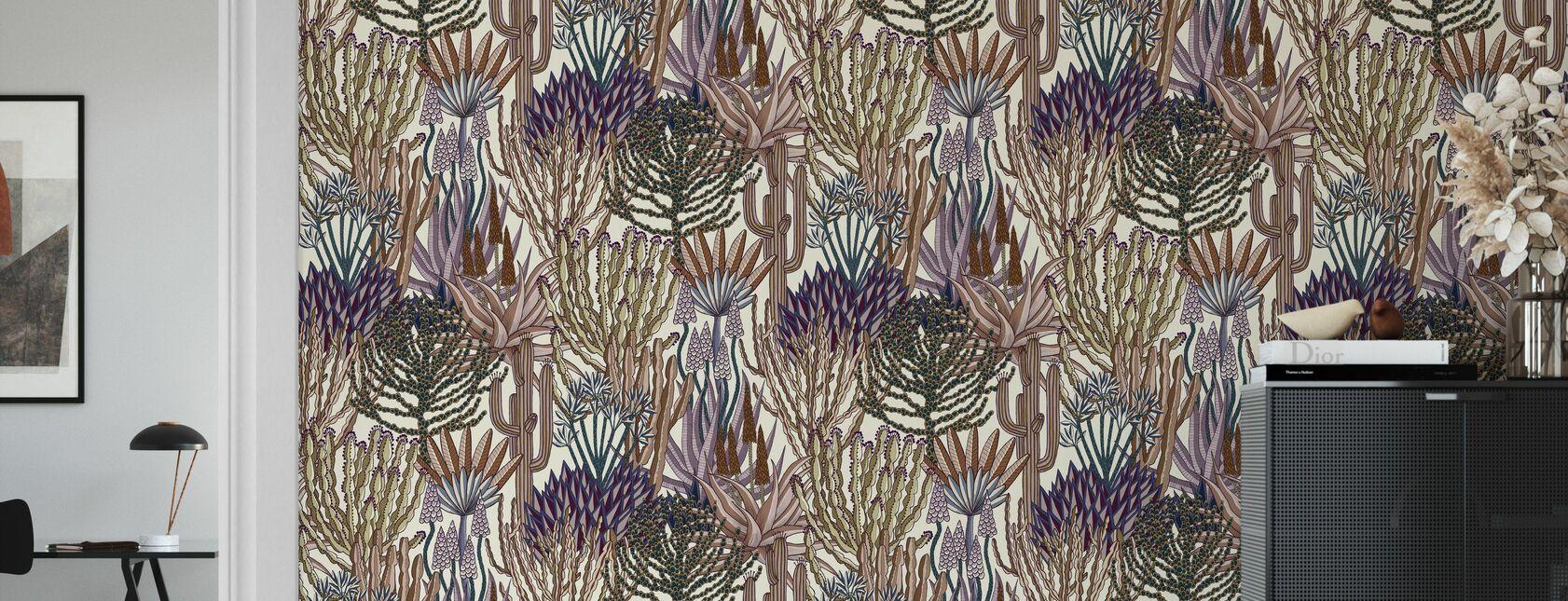 Euphorbia Forest - Carnival - Wallpaper - Living Room